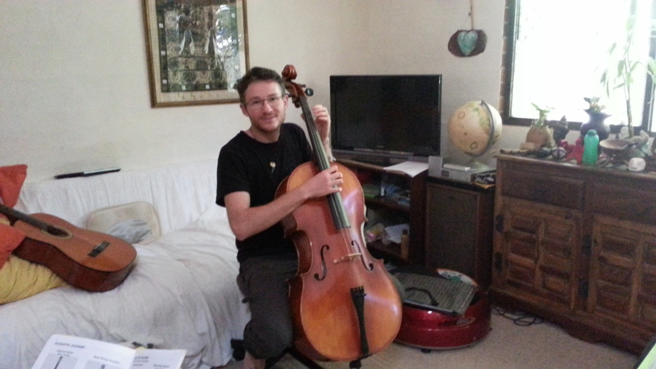 First time using a Cello